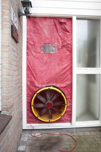Blowerdoor en luchtdichtheid blower door
