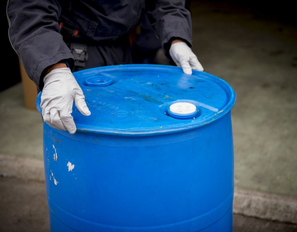 XTC-afval gevonden op Rullen in Gerwen Drugsdump