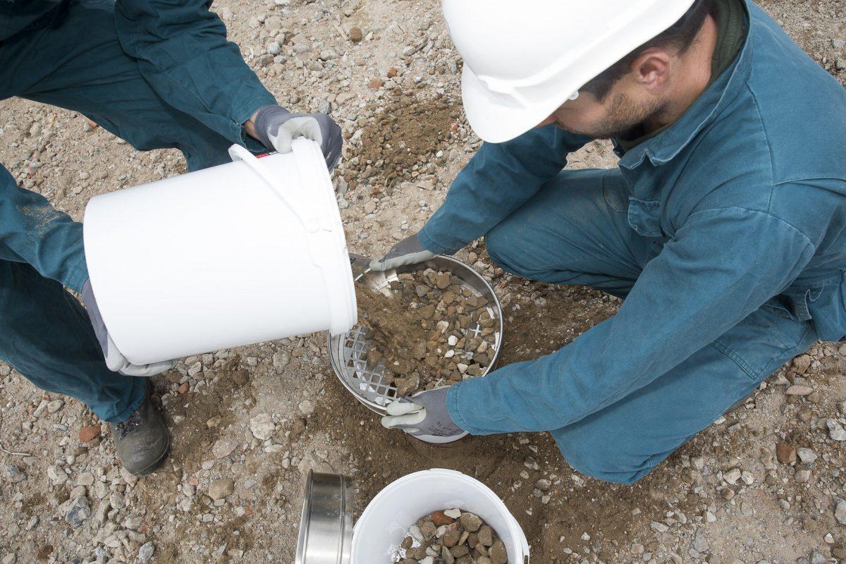Onderzoek relatie asbest en puin