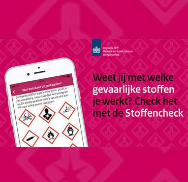 Inspectie lanceert gevaarlijke stoffen app voor werknemers